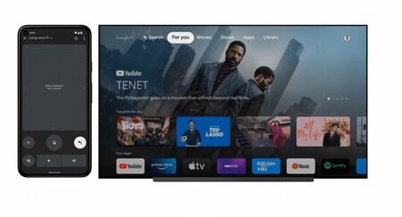 Google quiere que puedas usar el móvil Android como un mando a distancia avanzado para tu tele Android TV y Google TV