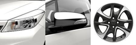 Toyota Yaris SoHo detalles exterior