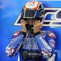 Álex Rins ha sufrido un accidente de bicicleta en Montmeló y no correrá el Gran Premio de Cataluña de MotoGP