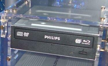 Philips anuncia su grabadora Blu-ray de 50 GB