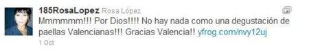 Rosa Lopez tweet