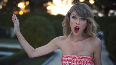 Taylor Swift se viste de pasarela para su vídeo 'Blank Space'