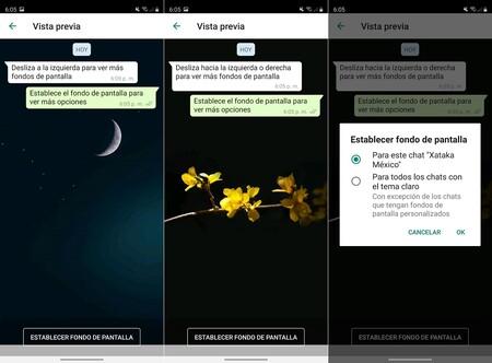 Nuevos Fondos Pantalla Personalizados Whatsapp Diferentes Fondo Cada Chat Conversacion