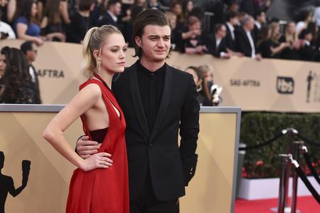 Las parejas derrochan amor en los SAG 2018