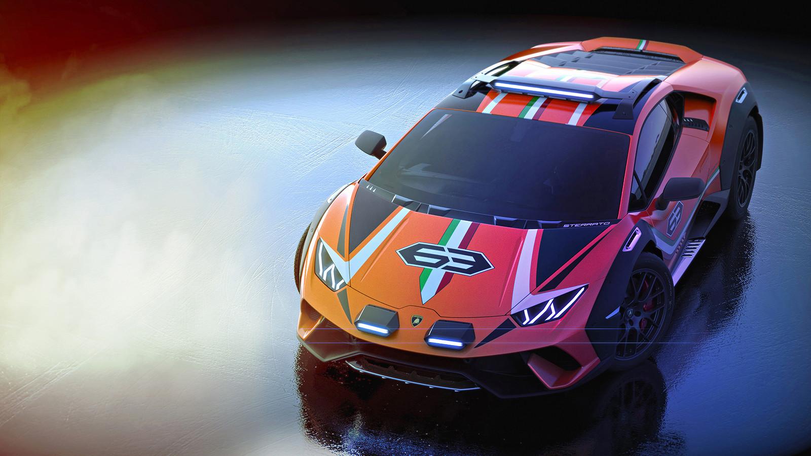 Foto de Lamborghini Huracán Sterrato Concept (6/7)
