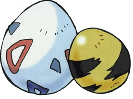 Huevos Pokemon