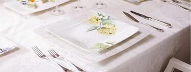 Con esta selección de manteles y vajillas de El Corte Inglés rebajados, si no pones una mesa bonita es porque no quieres
