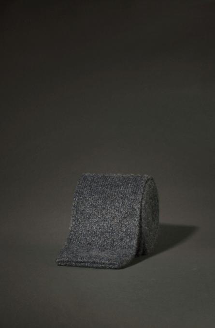 Corbata punta cuadrada
