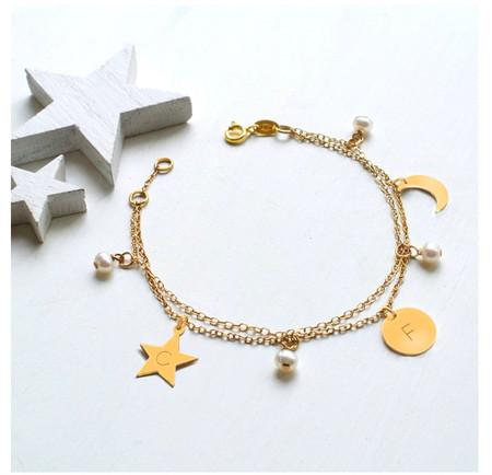 Collar Luna Y Estrella