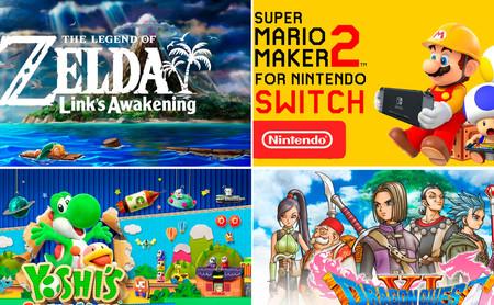 'Super Mario Maker 2', 'The Legend of Zelda: Link's Awakening' y TODOS los nuevos títulos que prepara Nintendo para este 2019