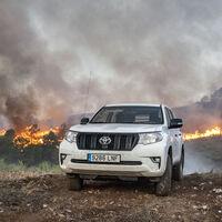 Claves de la seguridad vial frente a los incendios forestales