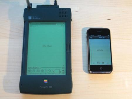 Apple Newton And Iphone