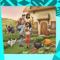 Si creías que ya lo habías visto todo en Los Sims 4, su nueva expansión nos lleva a vivir en el campo rodeados de gallinas y llamas