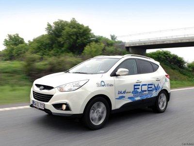Hyundai presentará el prototipo de una nueva SUV de celdas de combustible en Ginebra