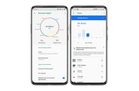 Oneplus 7 Pro Ajustes Bienestar Digital