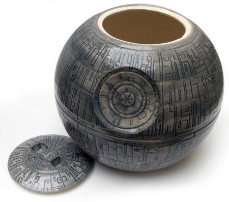 Bote de galletas de la Estrella de la Muerte: ¡usa la Fuerza!