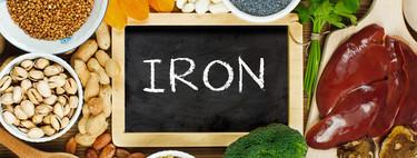 48 alimentos ricos en hierro y 48 recetas fáciles para que no cueste mejorar la dieta