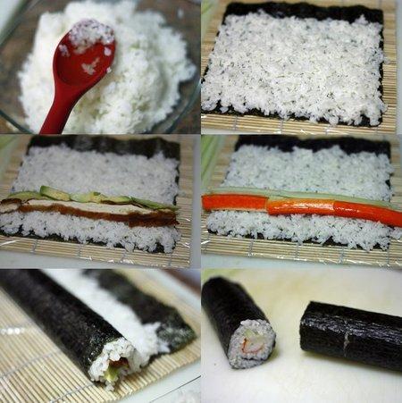 Pasos para hacer futomaki