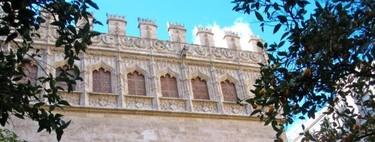 Visita a la Lonja de la seda en Valencia
