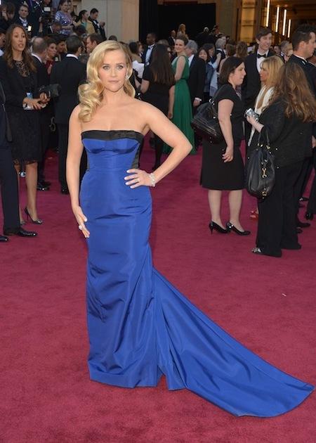 Reese Witherspoon de Louis Vuitton en la Gala de los Oscar 2013