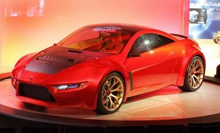Mitsubishi Concept-RA, inspirado en una almendra