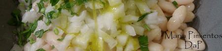 Ensalada vinagreta de habichuelas