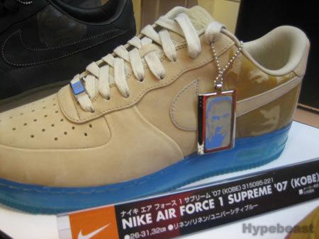 Las Nike Air Force 1 de Kobe Bryant