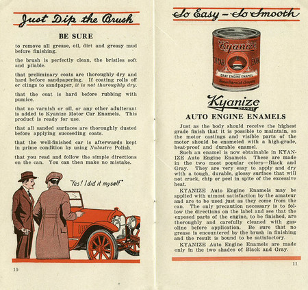 Cómo pintar el automóvil, 1922