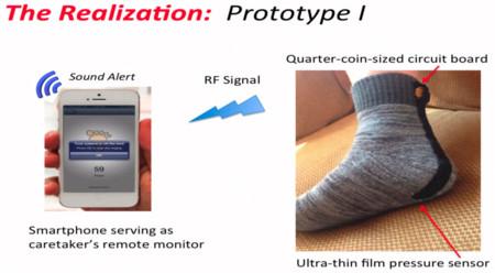 Google Science Fair 2014 Sock for Alzheimer