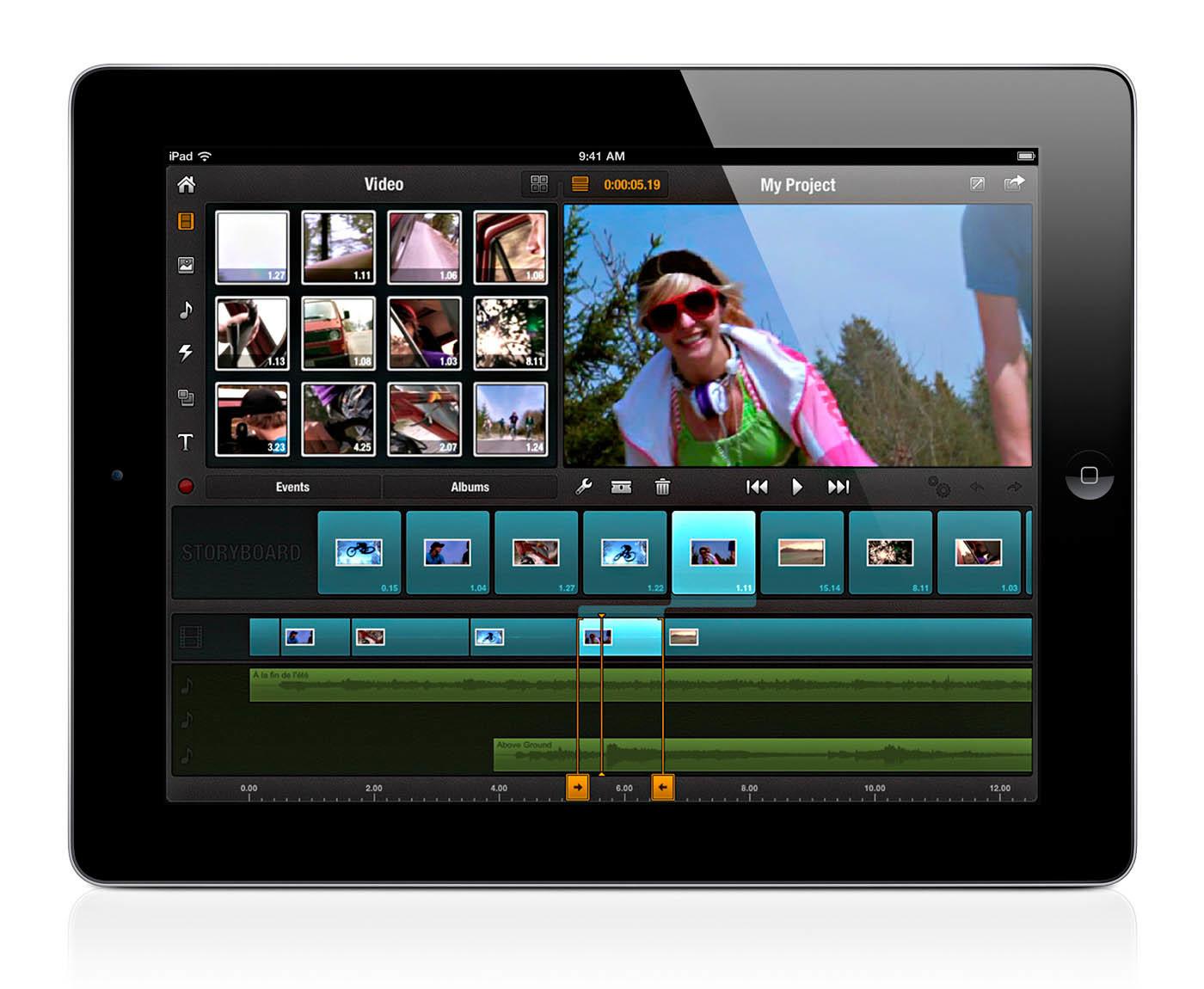Foto de Avid Studio para iPad (1/18)