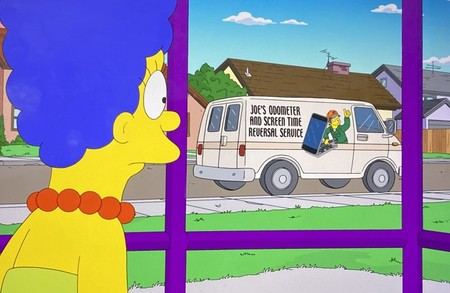 Servicio De Manipulacion De Tiempo De Uso De Los Simpson