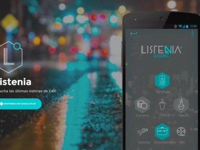 Listenia, la radio de noticias ondemand para los caleños