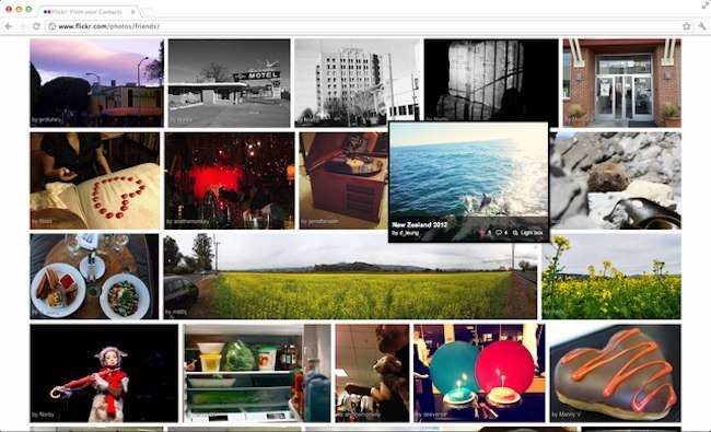 flickr photo view