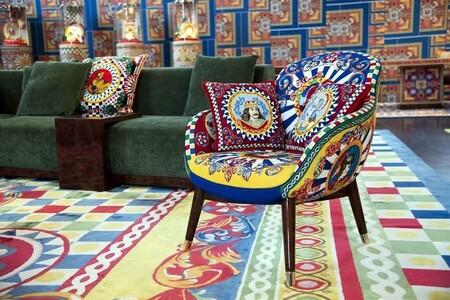 Así es Dolce & Gabbana Casa, la primera colección de decoración de la marca cargada de color y estilo italiano (no apta para los más minimalistas)