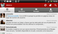 Seesmic for Android, completo cliente Twitter con detalles curiosos
