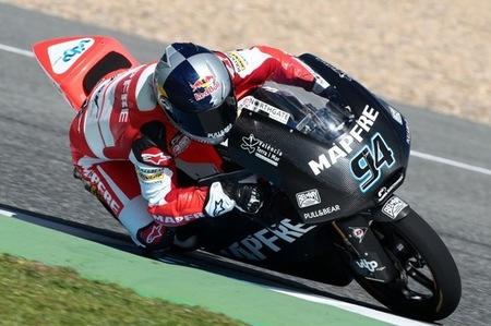 Jonas Folger en Jerez