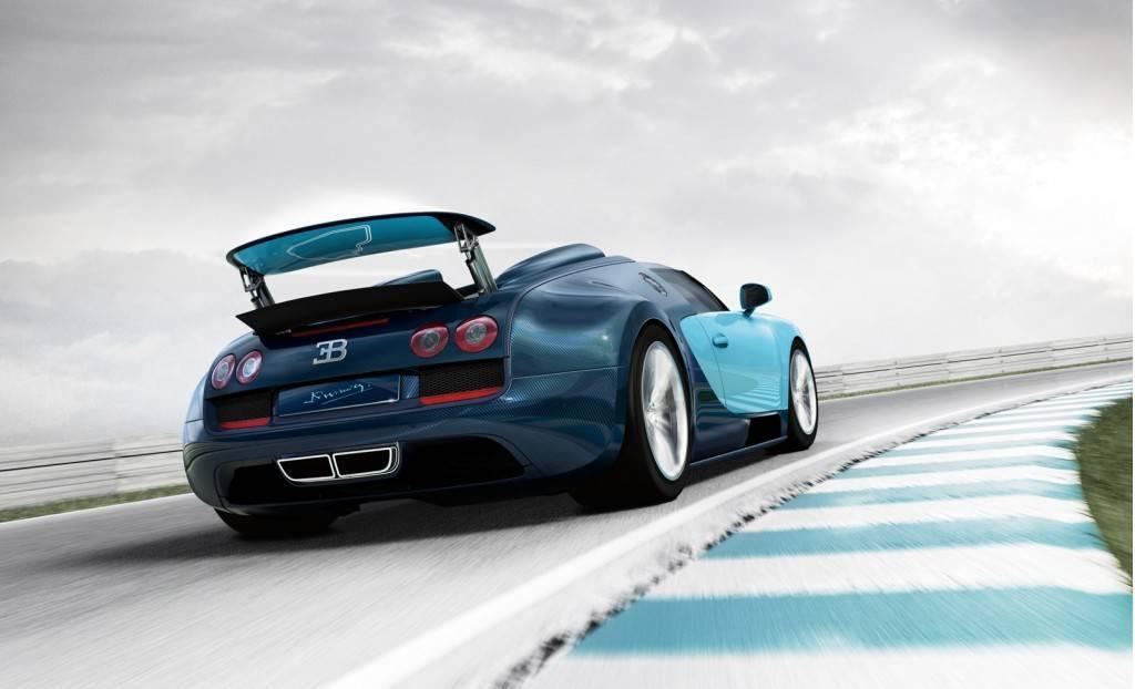 Foto de Bugatti Veyron Legend Jean-Pierre Wimille (2/10)