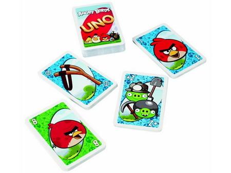 UNO, el juego de cartas versión Angry Birds