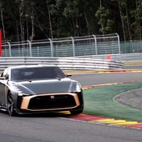 El Nissan GT-R50 no quiere ser un coche de adorno, se ha ido a Spa-Francorchamps y ¡suena de fábula!