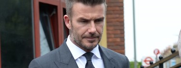 David Beckham o la perfección de un traje gris (apto incluso para los malos momentos)