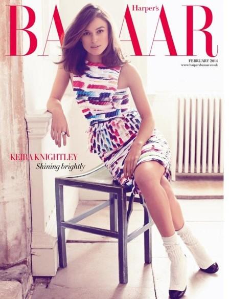 Keira Knightley, su portada para Harper's y los parecidos razonables
