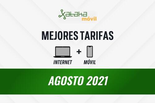 Las mejores tarifas de móvil y fibra en agosto de 2021