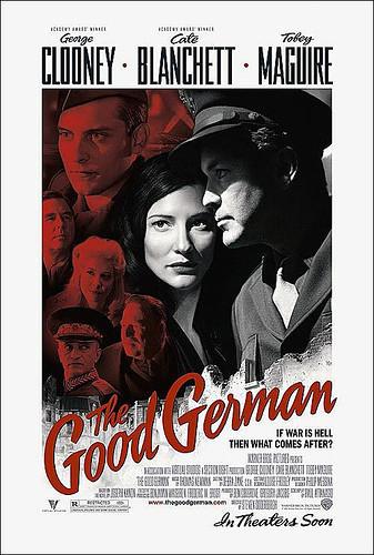 Póster de 'The Good German' de Steven Soderbergh