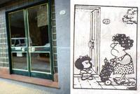 Mafalda tendrá su estatua en la puerta de su casa en Buenos Aires