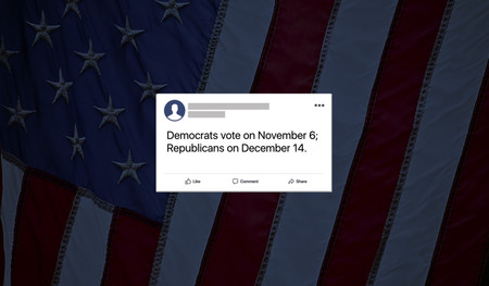 Facebook prohibirá la información falsa en las elecciones legislativas de EEUU