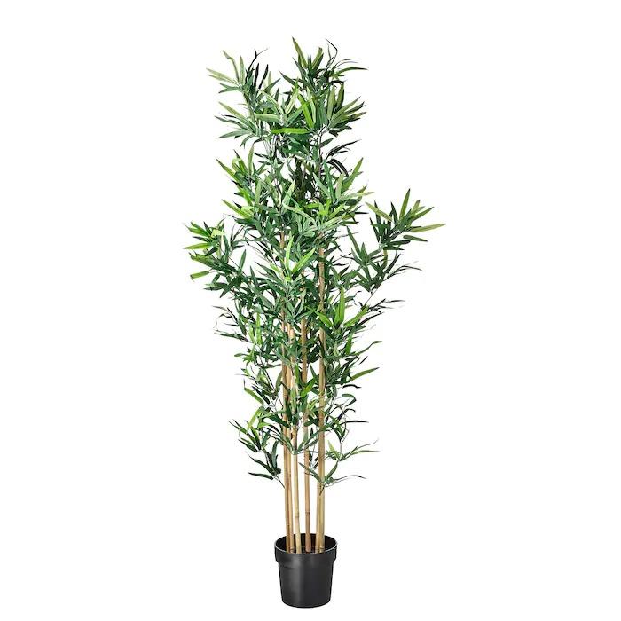 FEJKA Planta artificial, int/ext bambú23 cm