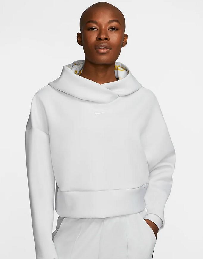 Sudadera con capucha de tejido Fleece - Mujer Nike Pro