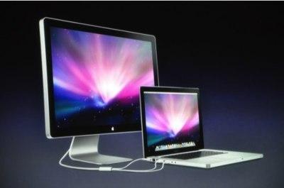 Nuevos Cinema Display al estilo iMac