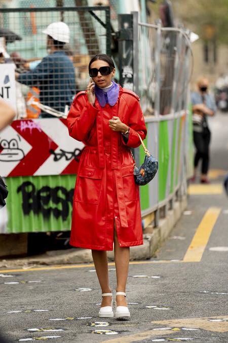 street style como combinar el morado