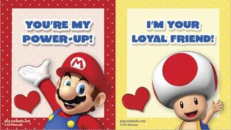 Nintendo ofrece gratis encantadoras tarjetas de San Valentín
